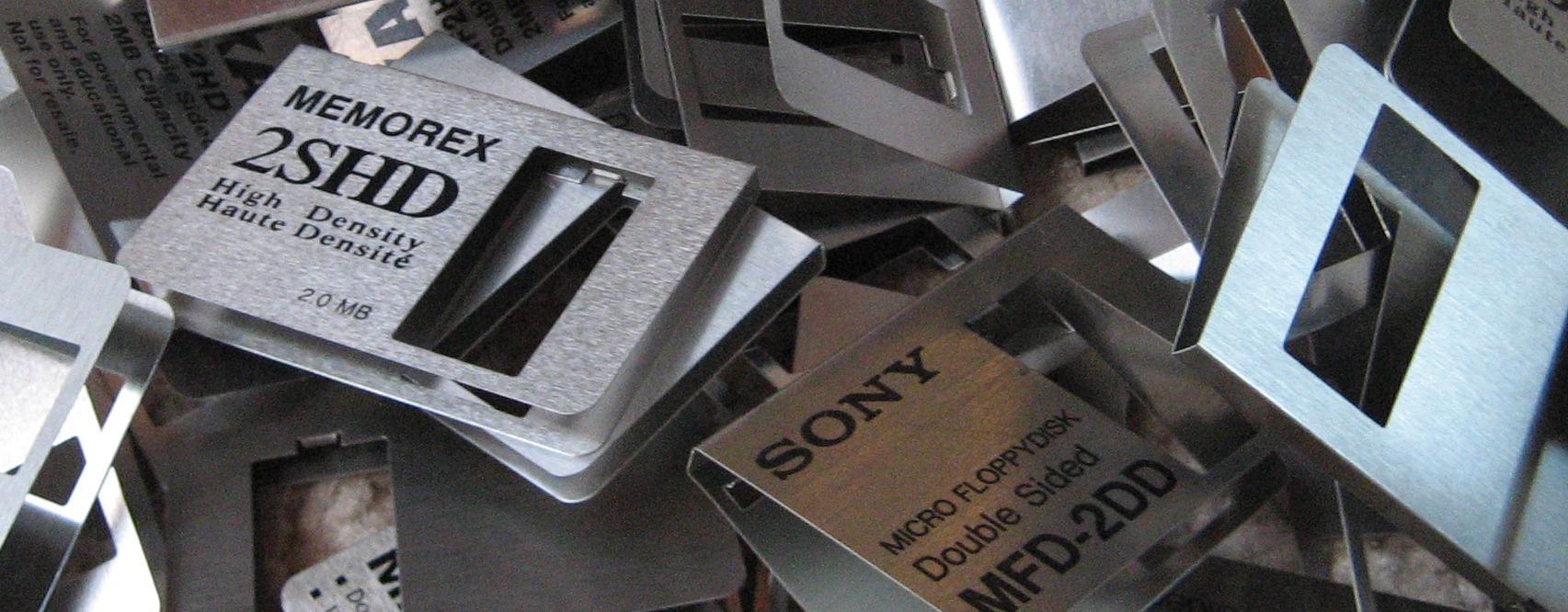 Floppy shutters detail