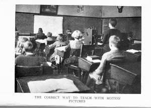 frontispiece Motion Pictures in Education, 1923
